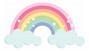 con arcoiris